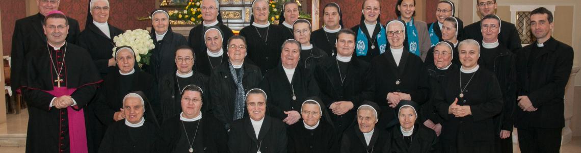 Proslava zlatnog jubileja Družbe sestara Kraljice svijeta