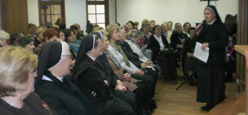 Adventska duhovna obnova članova Udruge PBMKS u Velikoj Gorici