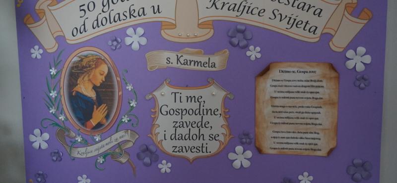 S. Karmela Crnčević – 50. g. u Družbi